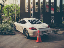 超级汽车在雅加达 免版税库存图片