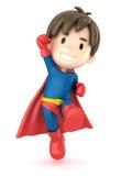 超级男孩 图库摄影