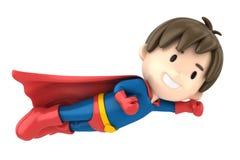 超级男孩 免版税库存照片