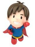 超级男孩 免版税库存图片
