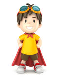 超级男孩 免版税图库摄影