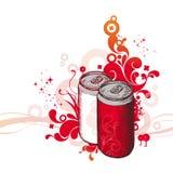 超级的可乐 库存照片