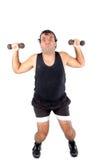 超级的运动员 免版税库存照片