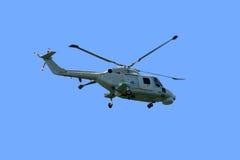 超级直升机的linx mk95 免版税库存照片