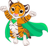 超级老虎 免版税库存照片