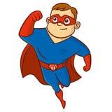 超级英雄人漫画人物 库存照片