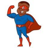 超级英雄人漫画人物 免版税库存照片