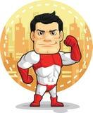超级英雄动画片  库存照片