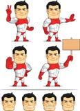 超级英雄定制的吉祥人6 库存图片
