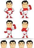 超级英雄定制的吉祥人7 库存照片