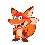 超级英雄狐狸 皇族释放例证
