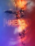 超级英雄 库存图片