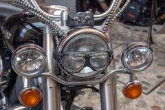 超级葡萄酒摩托车自行车和跑车 免版税图库摄影