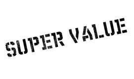 超级价值不加考虑表赞同的人 免版税图库摄影