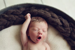 超级婴孩! 免版税库存照片