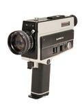 超级8台照相机的影片 库存照片