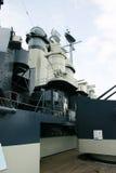 超结构军舰 免版税库存照片