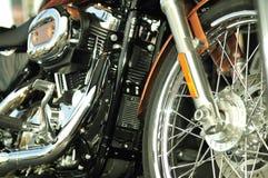 超自行车干净的马达 库存照片