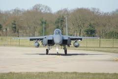 超音速军用喷气机战斗机 免版税库存图片