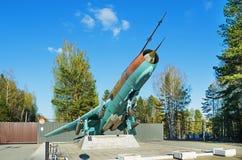 超音速战斗轰炸机SU-17 m2 免版税图库摄影