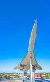 超音速的协和飞机 库存图片