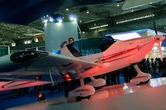 超轻型的航空器,蜇S4 免版税库存照片