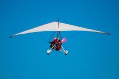 超轻型的飞行 免版税库存照片
