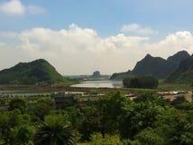 越南乡下 库存照片