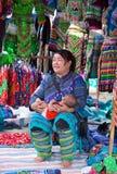 越南人Hmong抱着她的胳膊的少数妇女婴孩 图库摄影