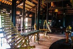 越南全国乐器 库存照片