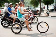 越南公民健康生活方式  免版税库存图片