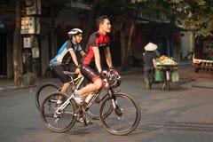 越南公民健康生活方式  库存图片