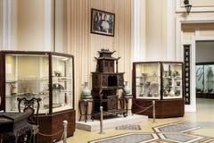 越南历史博物馆,胡志明市。 库存图片
