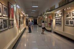 越南历史国家博物馆内部  图库摄影
