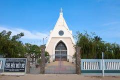 越南和美国金奈教会  库存图片