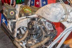 越南在SEMA的进贡摩托车 库存照片