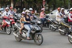 越南大气污染 免版税库存照片