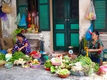 越南妇女工作 免版税库存图片