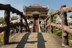越南寺庙蓝毗尼 免版税库存照片