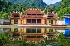 越南寺庙 免版税库存照片