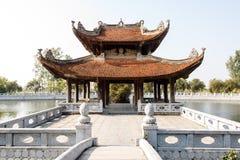 越南寺庙 库存照片