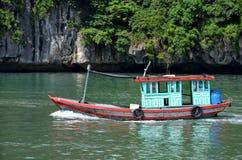 越南小船 库存图片