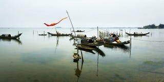 越南小船 免版税库存照片