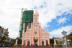 越南岘港大教堂 图库摄影