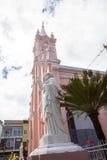 越南岘港大教堂 免版税库存图片