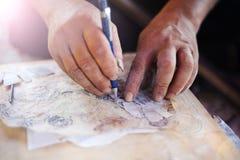 越南工匠 免版税库存照片