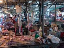 越南市场 库存图片