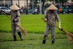 越南庭院工作者 免版税图库摄影