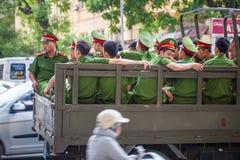 越南战争,军事战士越南的动员 库存图片