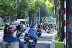 越南摩托车 免版税图库摄影